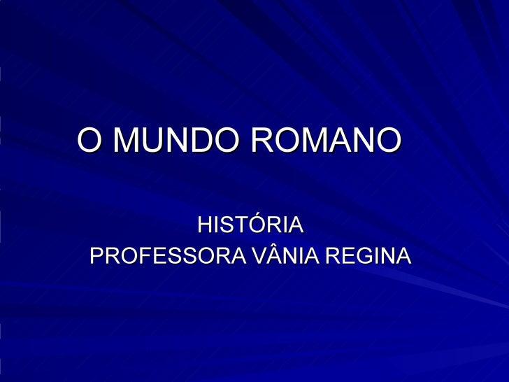 ImpéRio Romano Blog