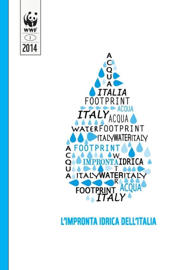 WWF Italia: Impronta idrica dell'Italia
