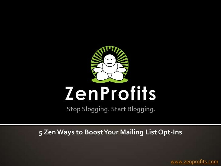 How to Get More Mailing List Opt-Ins