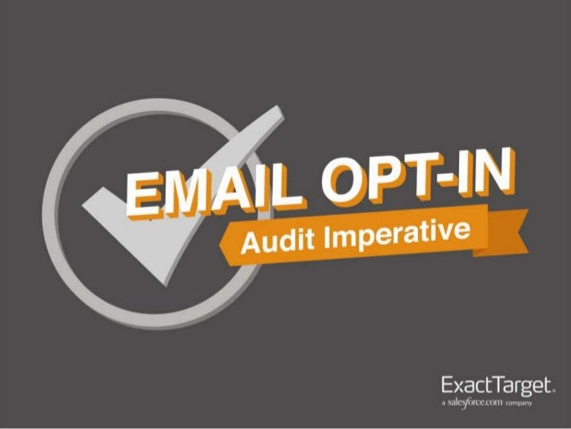 Improving Email List Growth - Email Opt-in Audit