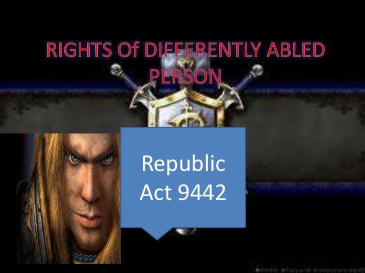RepublicAct 9442