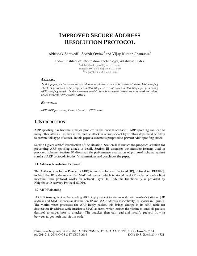 Dhinaharan Nagamalai et al. (Eds) : ACITY, WiMoN, CSIA, AIAA, DPPR, NECO, InWeS - 2014 pp. 201–211, 2014. © CS & IT-CSCP 2...
