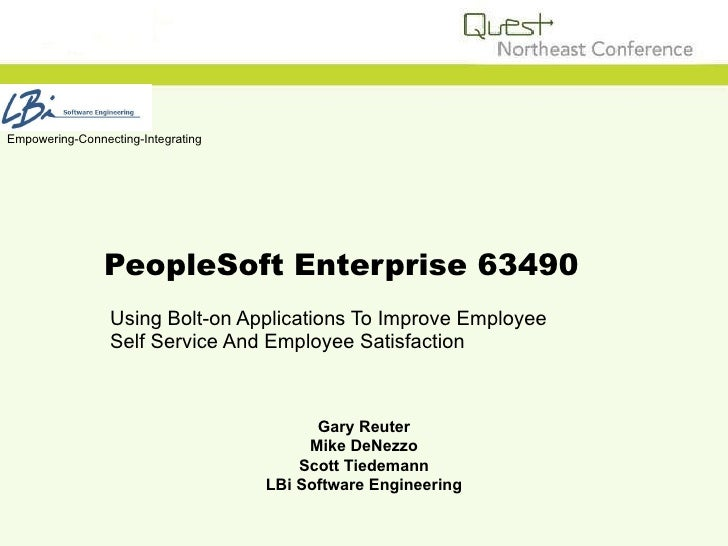 Improve Employee Self Service With Bolt On Applications