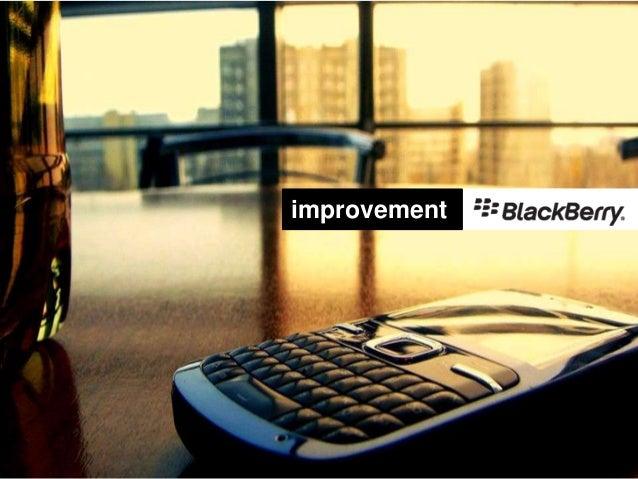 Improvement blackberry