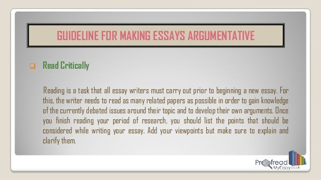 How can I improve on essay writing?
