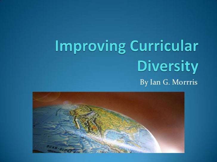 Improving Curricular Diversity