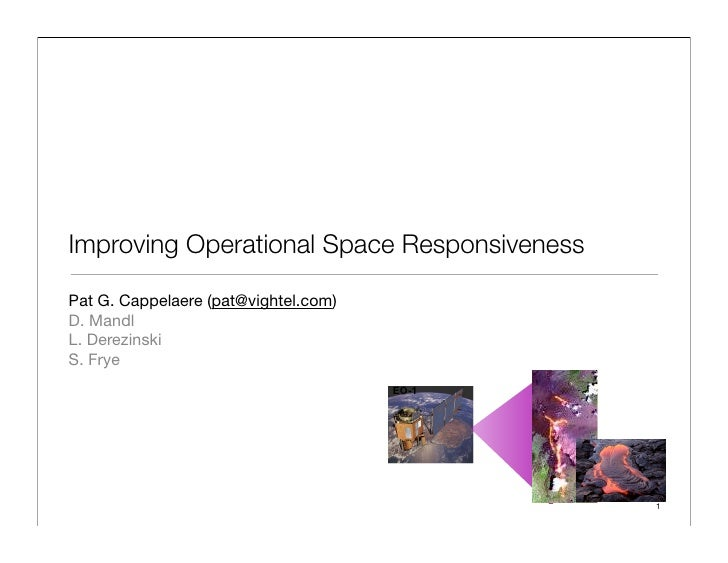 Improving Operational Space Responsiveness