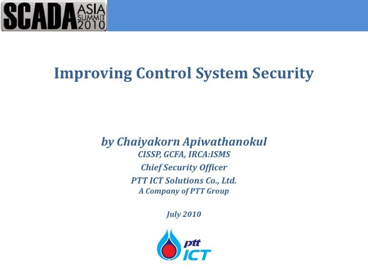 Improving SCADA Security
