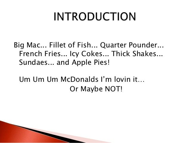 mcdonalds customer driven essay We will write a custom essay of quality through such principles as being customer driven called customer care toll free no of mcdonalds and complained.