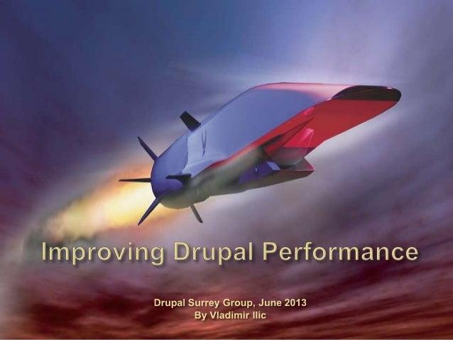 Improving Drupal Performances