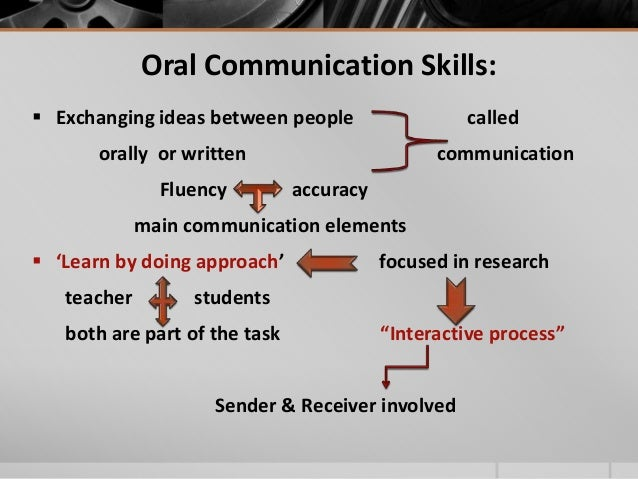deficiency in oral communication of the students Mathematical communication impact instruction  a sociocultural perspective shifts away from deficiency models of bilingual learners and  many students.