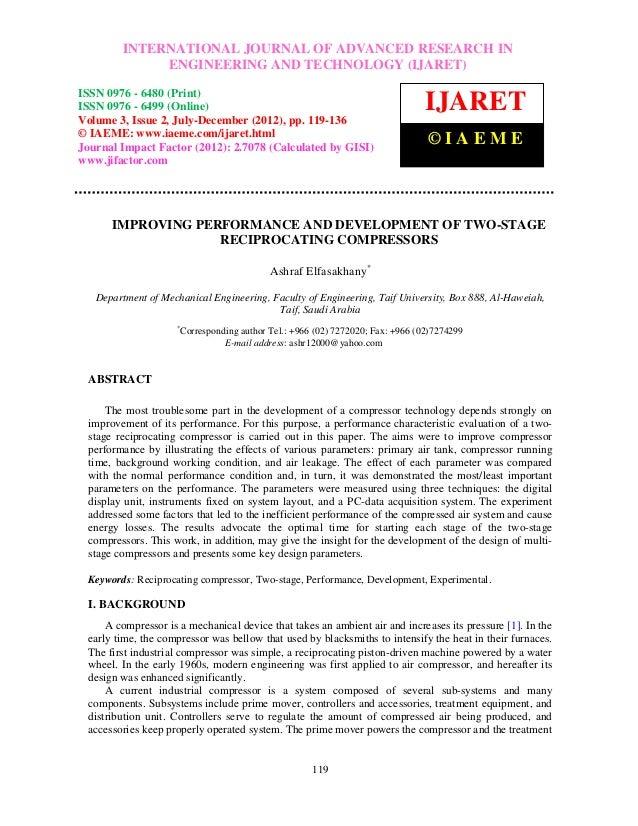 International Journal of Advanced JOURNAL OF ADVANCED RESEARCH ISSN 0976 –         INTERNATIONAL Research in Engineering a...
