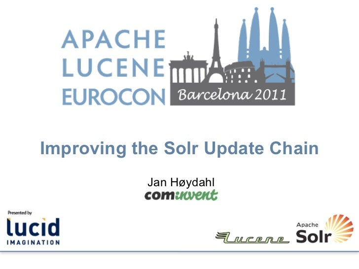 Improving the Solr Update Chain