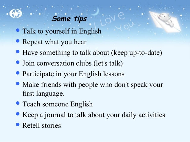 essay about how to improve english