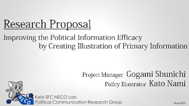 Improving the political information efficacy by creating illustration of primary information