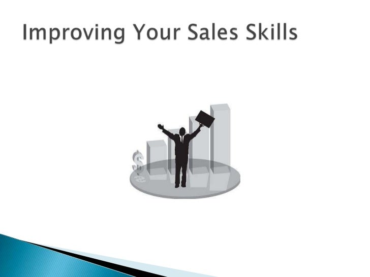 Improving your sales skills