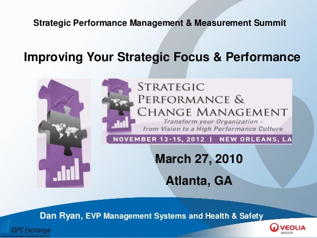 Improving Your Strategic Focus & Performance   Dan Ryan