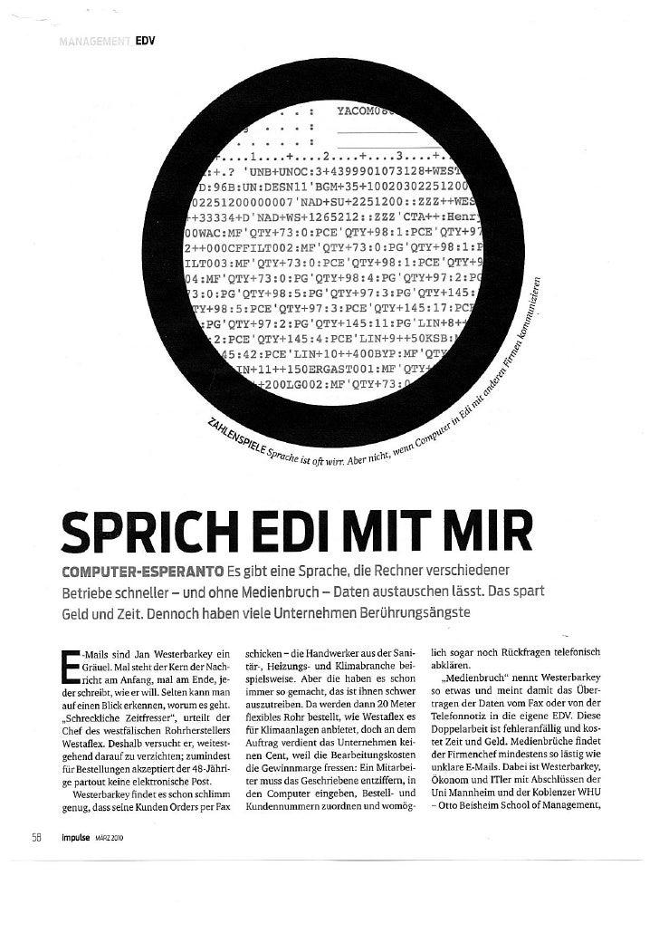 Impulse EDI Artikel