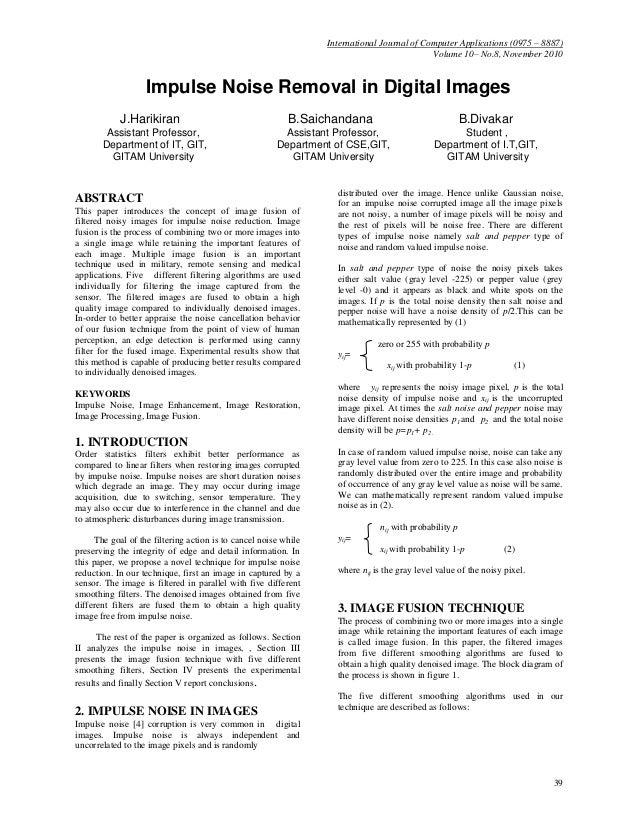 International Journal of Computer Applications (0975 – 8887)                                                              ...