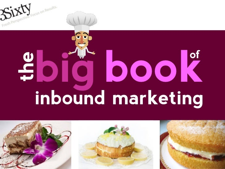 3Sixty Inbound Marketing Recipe Book
