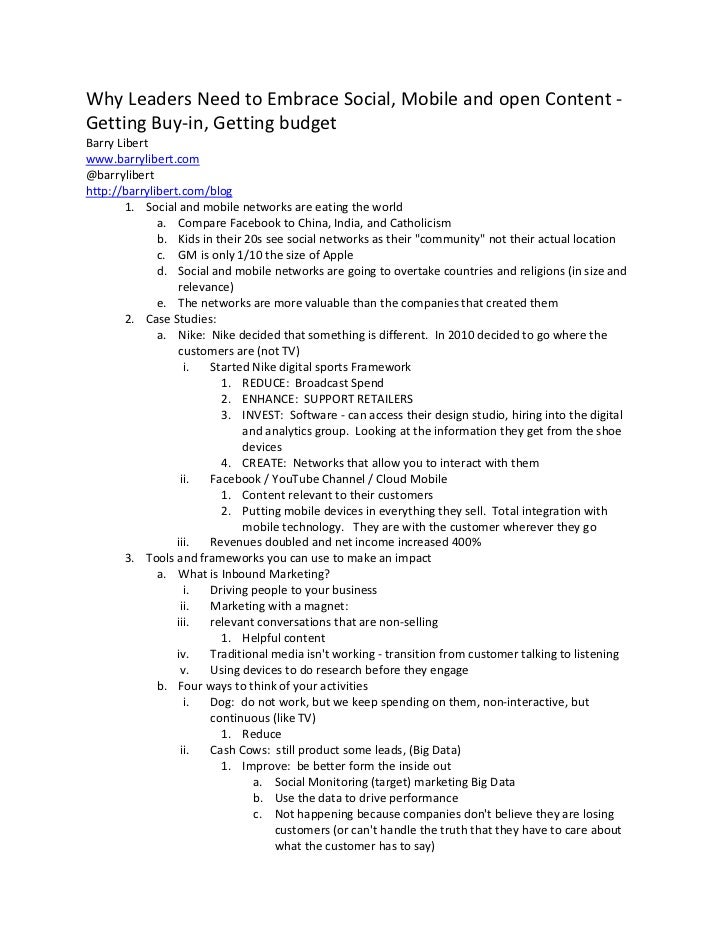 IMS2012 Notes