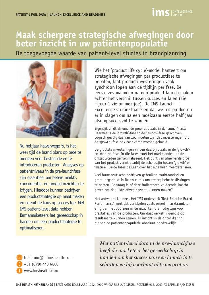 IMS Patient Level Data