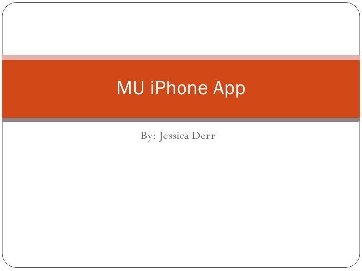 MU iPhone App