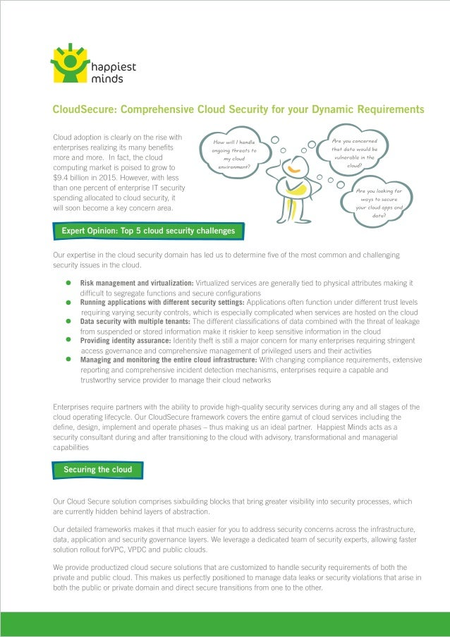 IMSS Cloud Secure Brochure