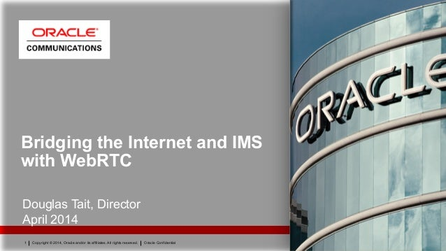 IMS WebRTC Workshop Oracle
