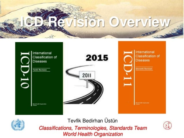 ICD Revision Overview                Tevfik Bedirhan Üstün  Classifications, Terminologies, Standards Team              Wo...