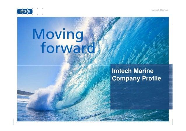 EMVT 12 september - Imtech Marine Company Presentation