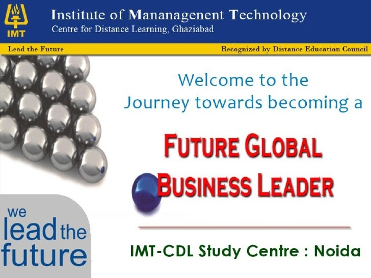 IMT - CDL Programme Guide
