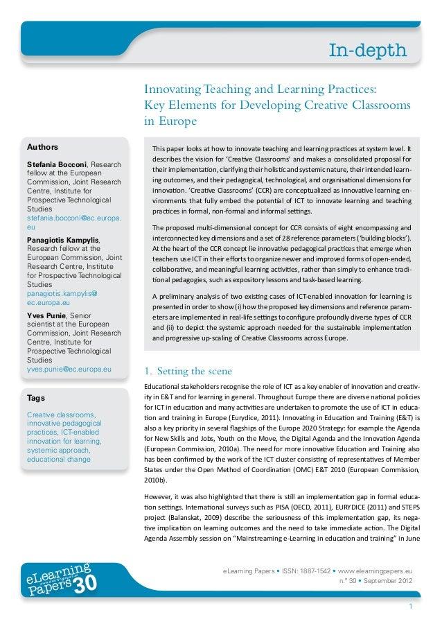 Creative Classrooms 2020 (CCR)