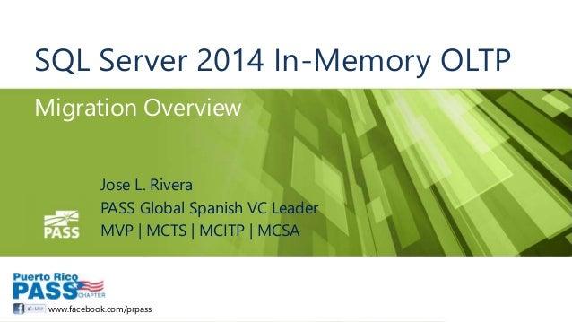 SQL Server In-Memory OLTP Migration Overview