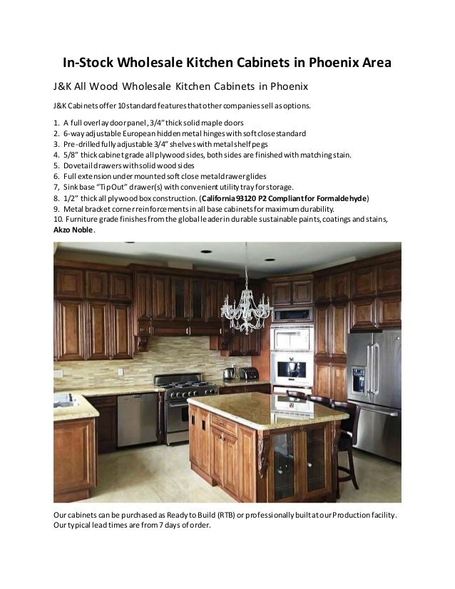In stock wholesale kitchen cabinets in phoenix area