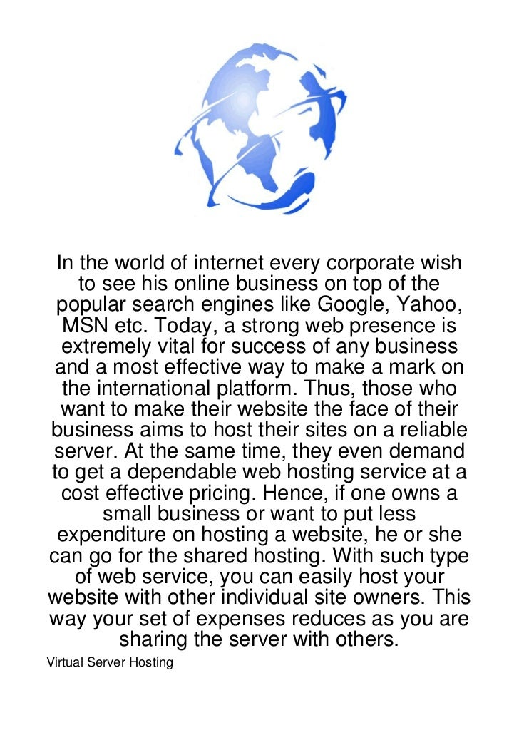 In the world of internet every corporate wish    to see his online business on top of the popular search engines like Goog...