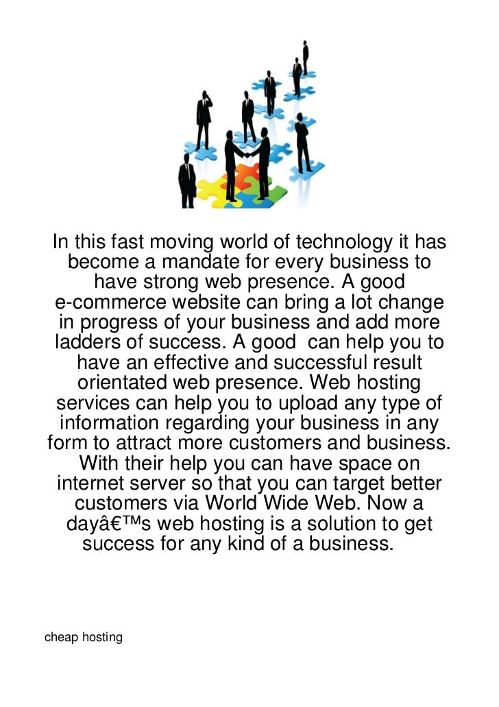 In this fast moving world of technology it has    become a mandate for every business to       have strong web presence. A...