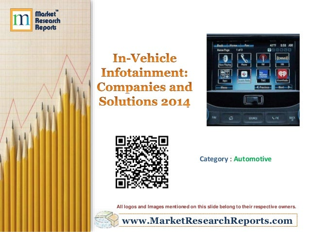 In-Vehicle Infotainment - Companies and Solutions 2014