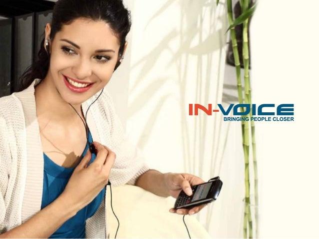 يزيل منتج  In-Voiceحالة الزعاج والتعقيد التي صتتعرض لها بسبب الموازنة بين وسائل الصتصال              ليقدم لك أفضل صت...