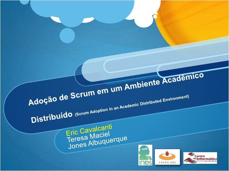 Scrum Adoption in an Academic Distributed Environment