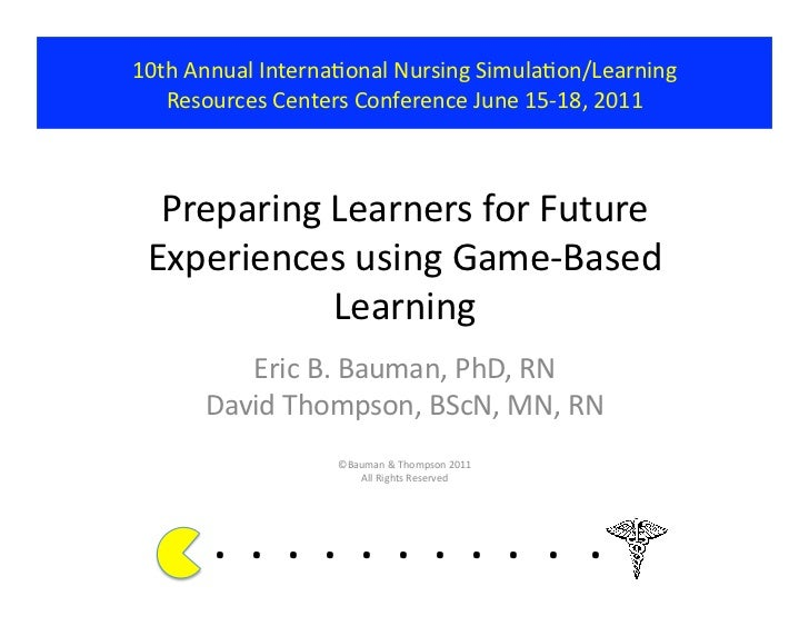 Preparing Learners for Future Experiences using Game-Based Learning