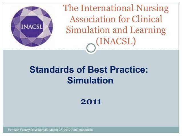 Inacsl standards presentation