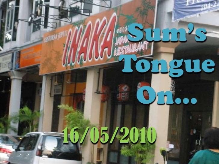 STO: Inaka Japanese Restaurant