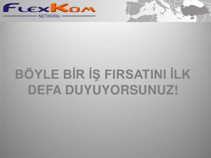 BÖYLE BİR İŞ FIRSATINI İLK DEFA DUYUYORSUNUZ!<br />
