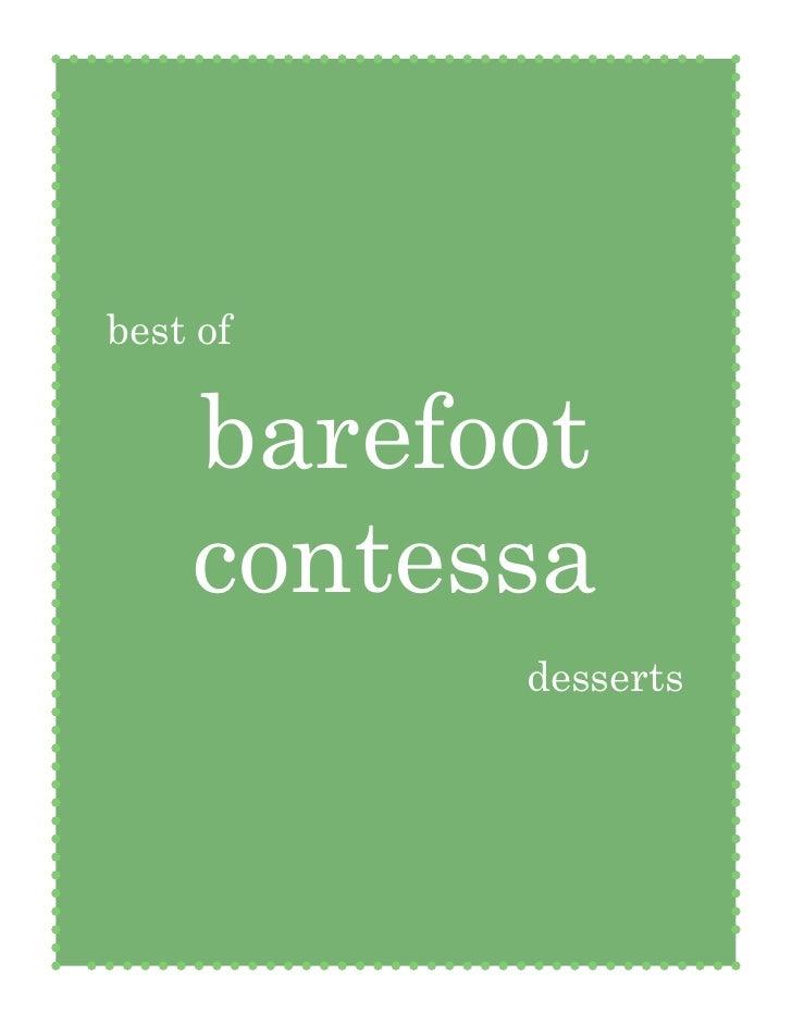 Barefoot Contessa Cookbook Project