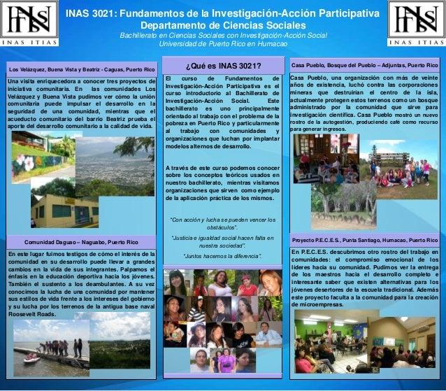 Inas 3021 fundamentos de la investigación acción participativa 2008