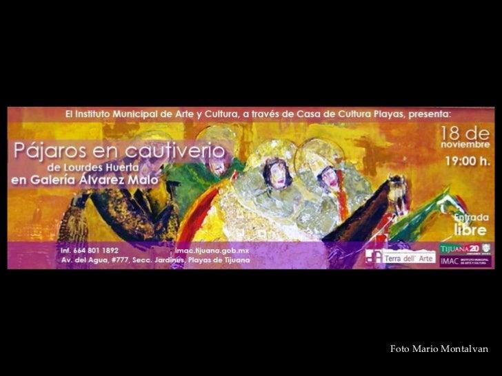 Inauguracion Expo Lourdes Huerta en Tijuana