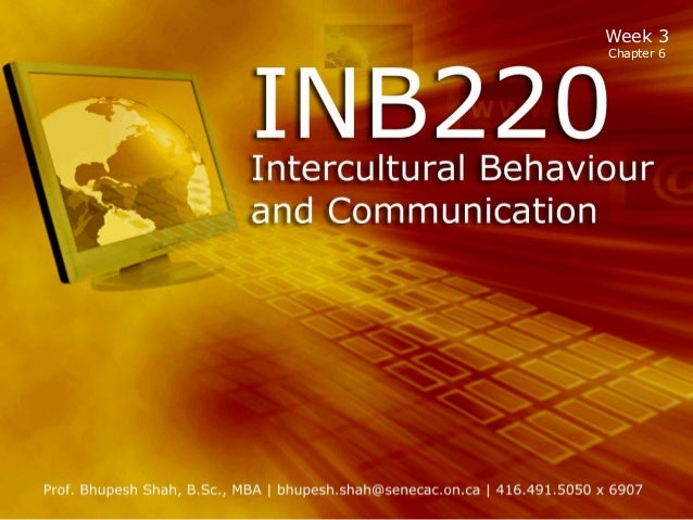 Inb220 tt week 3  ch 6 cultural shock