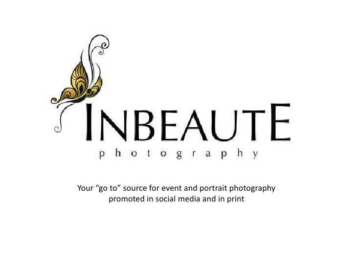 """Your """"go to"""" source for event and portrait photography promoted in social media and in print"""