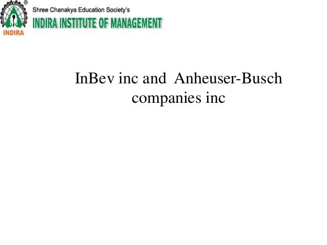 an analysis of the summary of anheuser busch companies inc A visual summary of anheuser-busch inbev finance inc's debt maturity profile that includes the amount outstanding, maturity date, and the current spread to benchmark for each bond.
